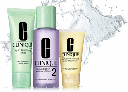 The Clinique 3 Step system really helped my skin to regain balance