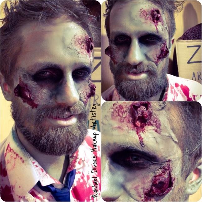 Head zombie Mr Horde