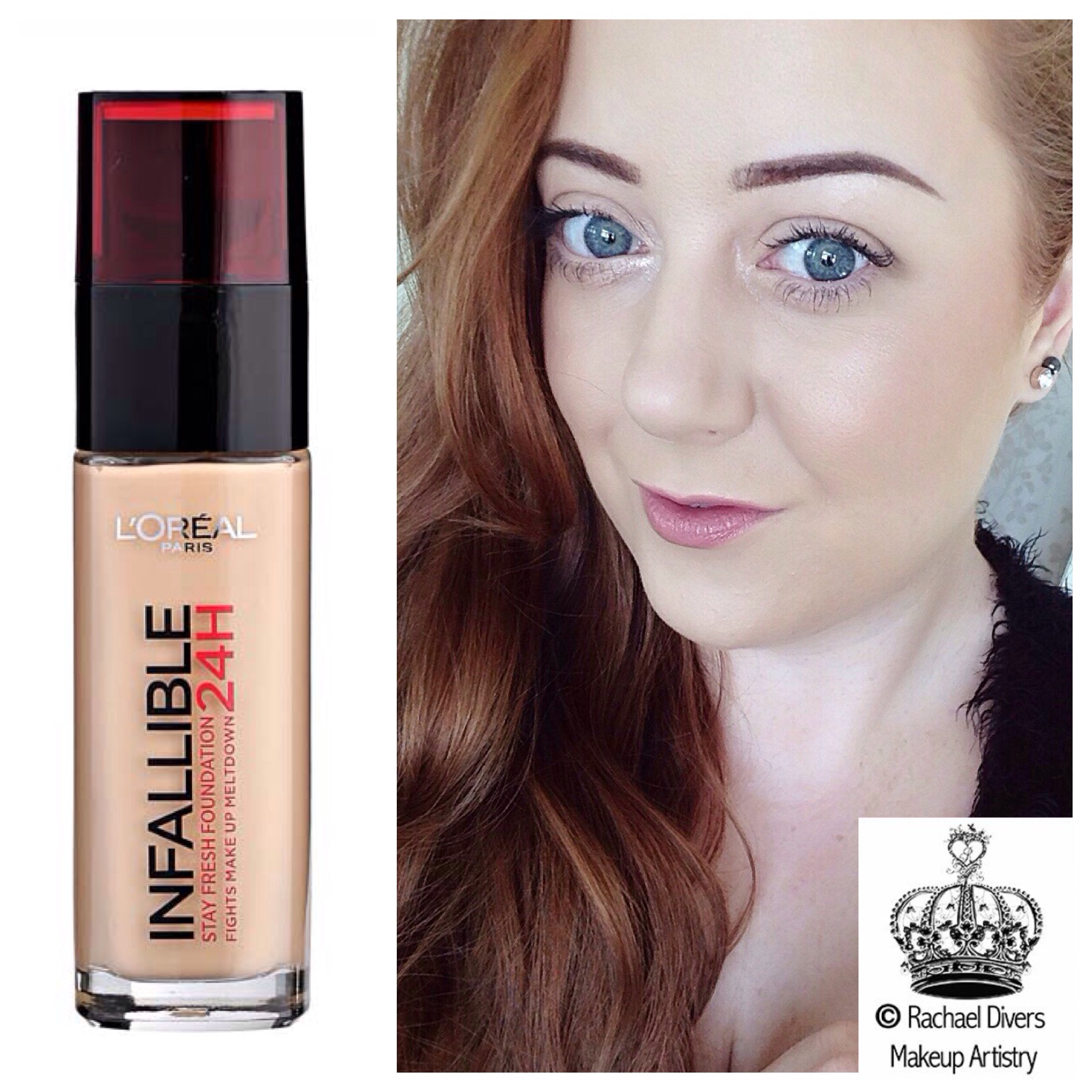 L Oreal Infallible 24h Stay Fresh Foundation Review Rachael Divers Makeup Artistry