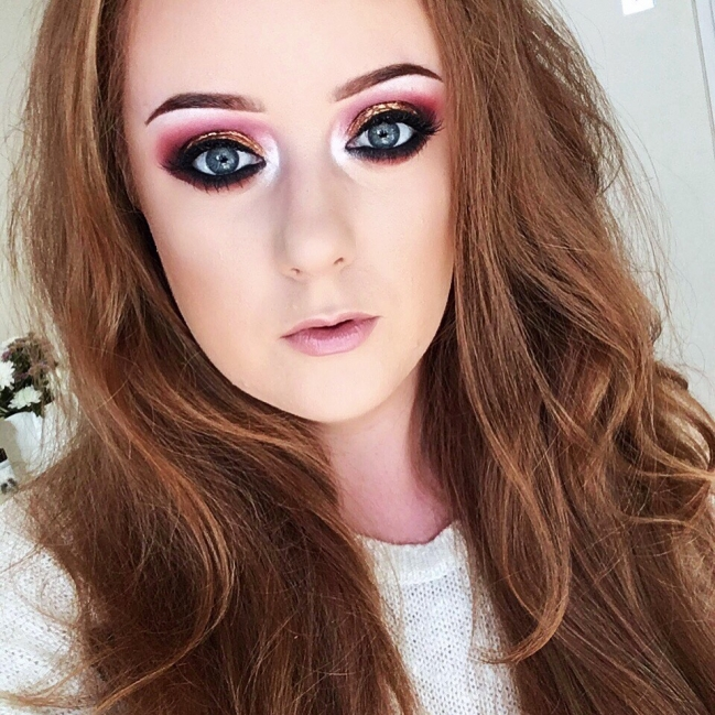 Deep pinks, purples and Golds are my go-to autumnal eye colours! | The Autumn Blogger Tag 2 | Rachael Divers