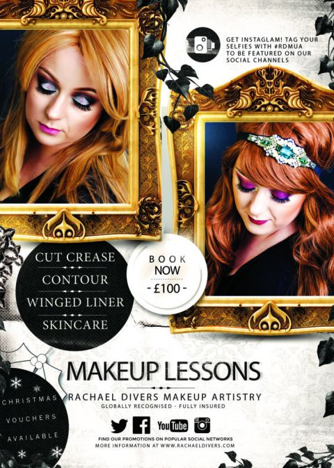 Makeup Lessons in Barnsley with Rachael Divers Makeup Artistry