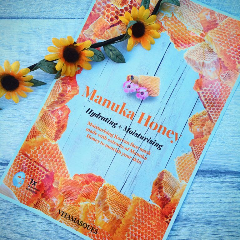 Vitamasques Manuka Honey Hydrating and Moisturising Sheet Mask review | Rachael Divers