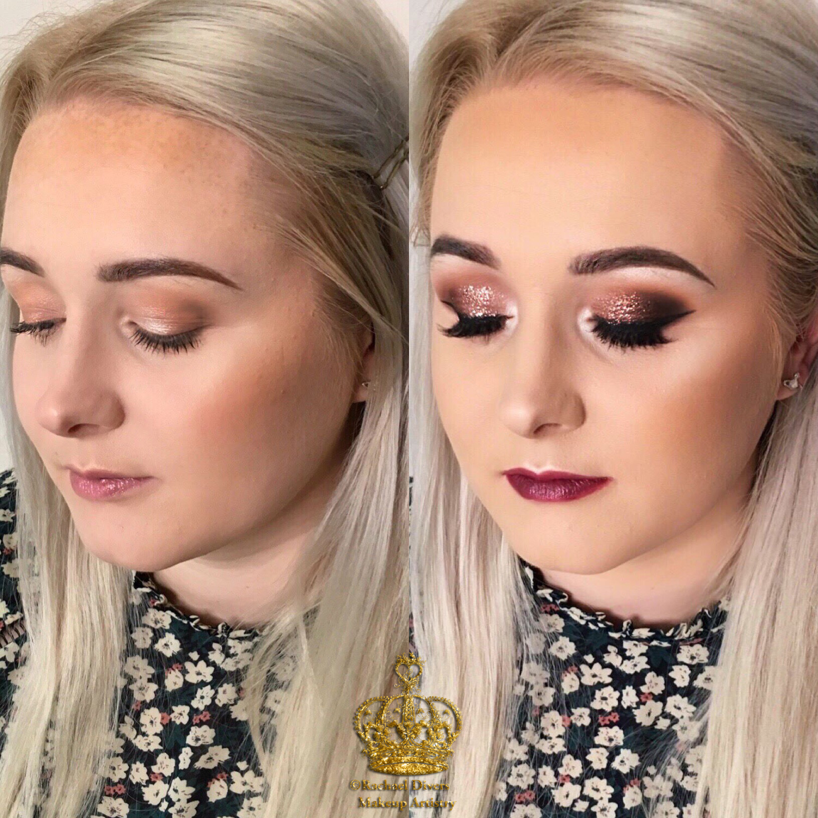 evening makeup images before and after | makewalls.co