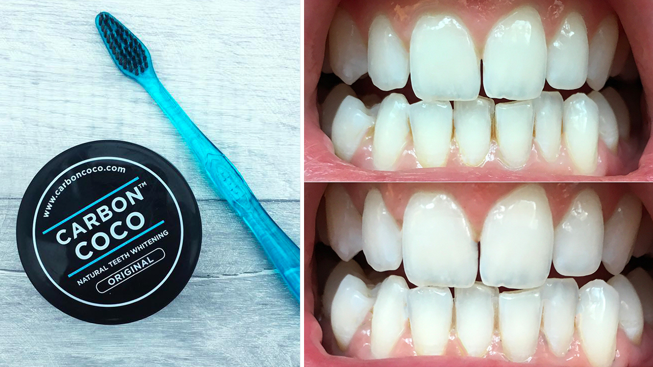 how to use carbon coco toothpaste