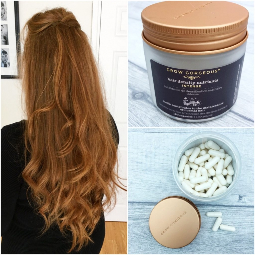 Pills for longer hair?! Grow Gorgeous Hair Density Nutrients review | Rachael Divers