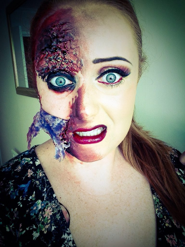 how to remove your halloween makeup safely and easily - rachael