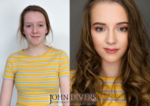 Before and After: Makeup Transformation for beautiful