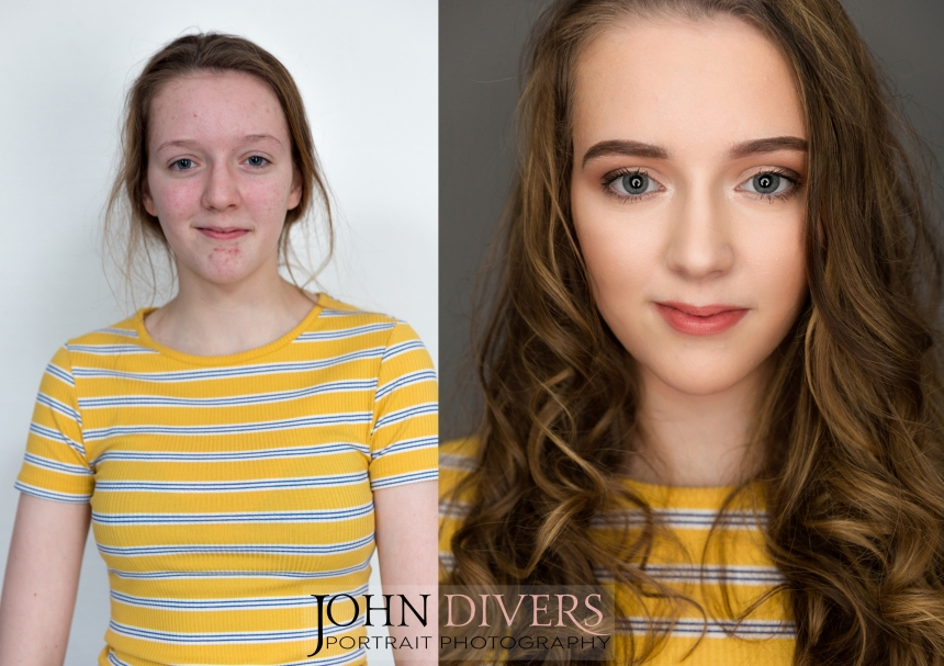 Before and After: Makeup Transformation for beautiful sisters